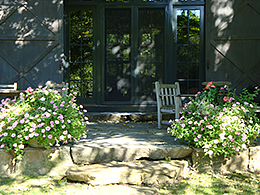 Unique garden design Cornwall, CT