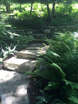 Estate garden design Washington Depot, CT